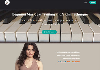 Music Ear Training & Violin Techniques from Vira