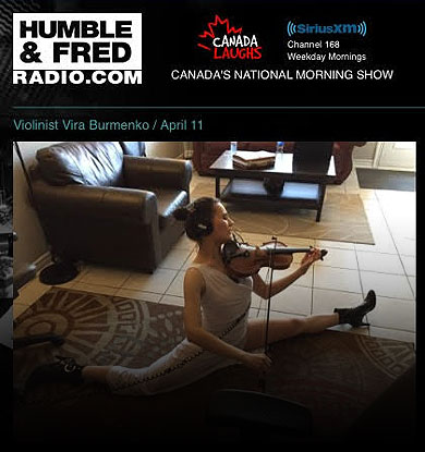 Vira Burmenko on the Humble & Fred (National) Radio Show